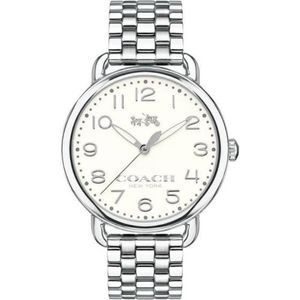 NWT Coach Delancey stainless steel watch